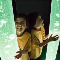 Multisensorial-Tubos de burbujas